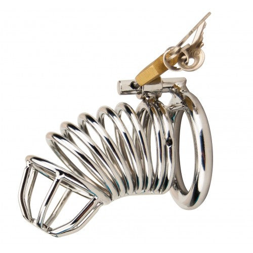 Impound Spiral Male Chastity Device