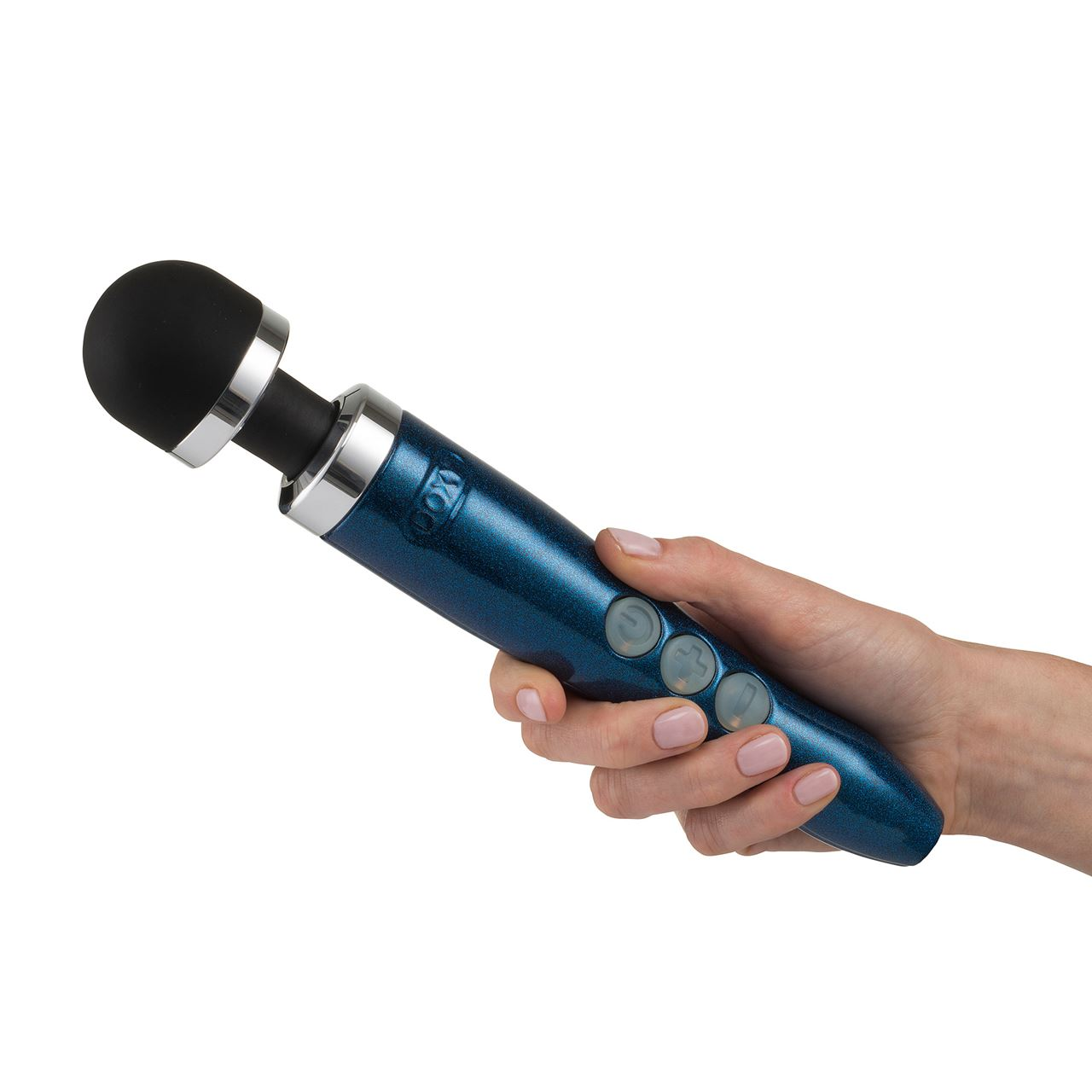 Doxy - Die Cast 3 Rechargeable Power Wand - Blue Flame
