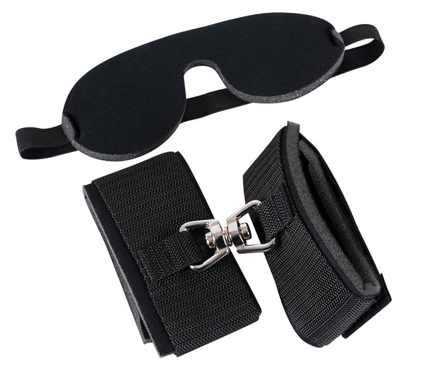 Bad Kitty Blindfold/Handcuffs Kit