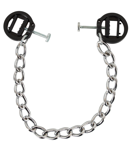 Chain With Extreme Nipple Clamps