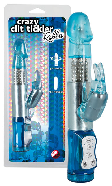 Crazy Clit Tickler Rabbit Vibrator