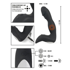 Rebel Luxury Rechargeable Prostate Stimulator