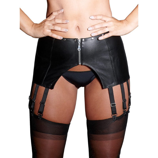 Zado - Leather Suspender with back lacing