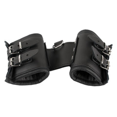 Zado - Wide Padded Leather Cuffs