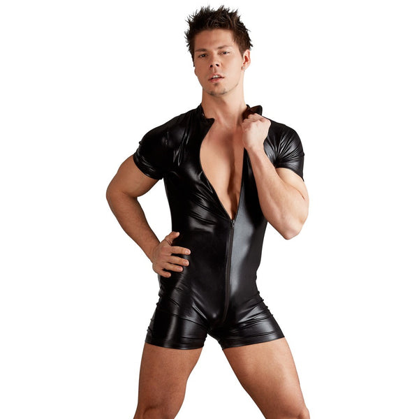 Svenjoyment - Men's Wetlook Playsuit