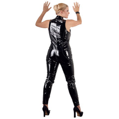 Black Level - PVC Catsuit with Full Zip