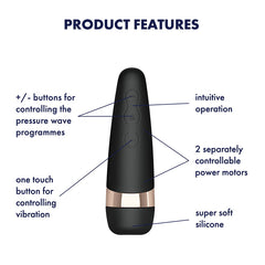 Satisfyer - Pro3 + Vibration Ultimate Suction Vibrator
