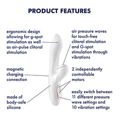 Satisfyer Pro + G-Spot - Air Pulse Pleasure