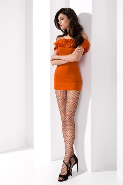 Passion - Cabaret Wide Braided Fishnet Tights