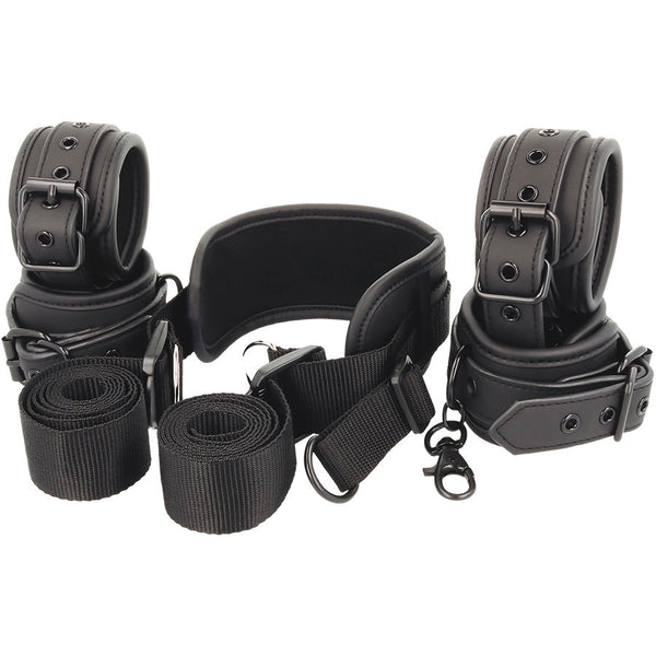 Fetish Submissive Position Master 4 Handcuffs Set