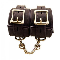 BOUND Nubuck Leather Ankle Restraints