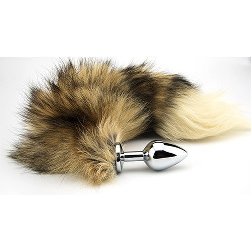 Furry Fantasy Red Fox Tail Medium Butt Plug