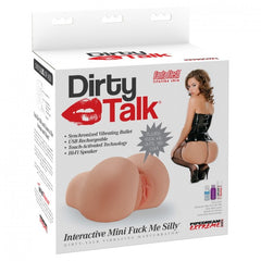 Extreme Dirty Talk Interactive Vibrating Mini Fuck Me Silly