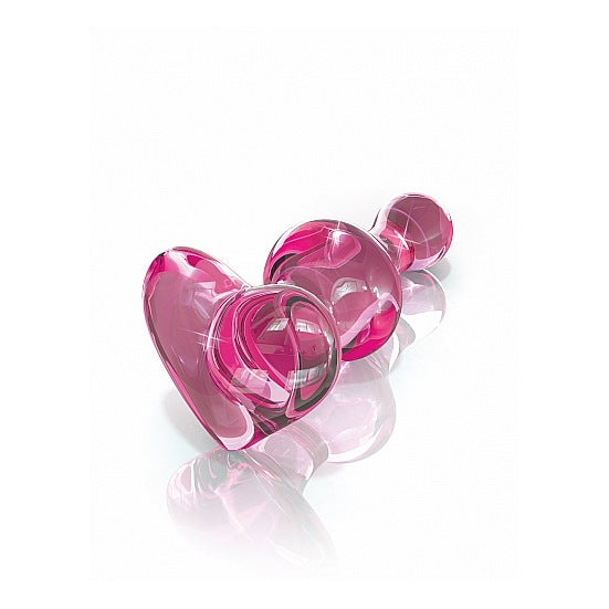 Icicles - Glass Heart Plug - No 75