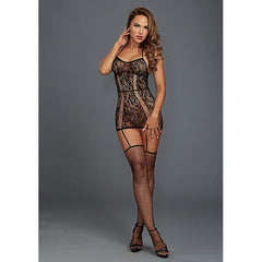 DreamGirl - Lace Garter Dress