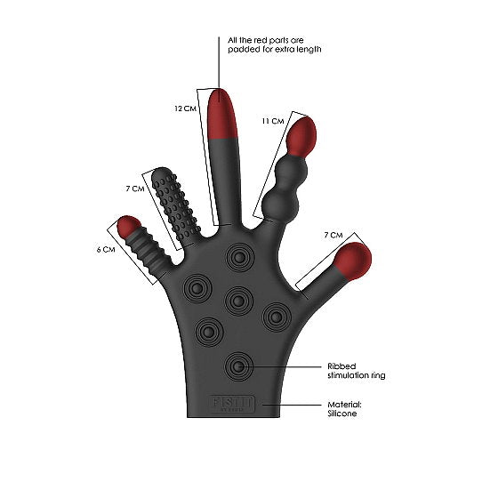 Silicone Stimulation Glove - Turn Your Fingers into Stimulators