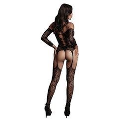 Le Désir - Criss Cross Neck Bodystocking
