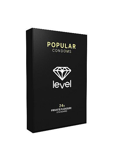 Level Condoms - Standard Popular 24 Pack