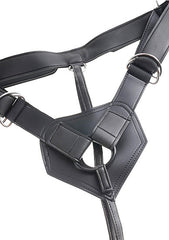 King Cock Strap-on Harness - with 8 Inch Cock - Skin