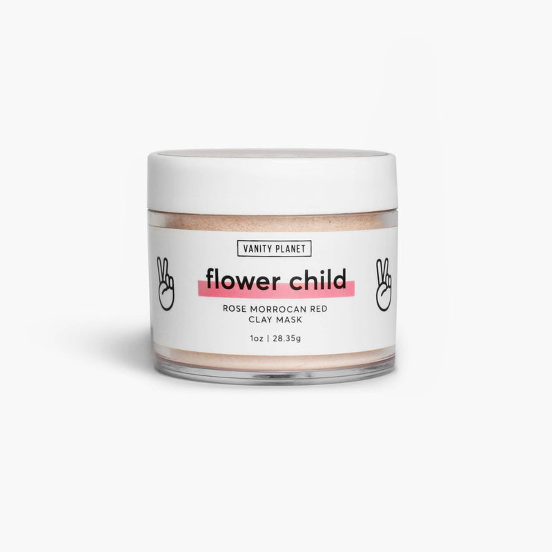 Flower Child | Rose Moroccan Red Clay Mask