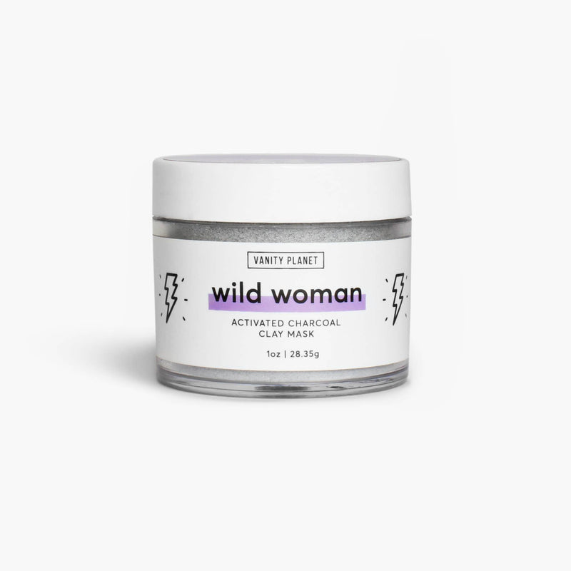 Wild Woman | Activated Charcoal Clay Mask
