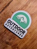 Outdoor Adventurer Stickers & Patches
