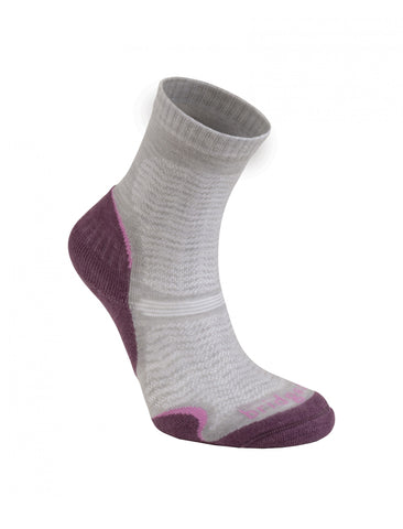 Bridgedale Womens Woolfusion Trail Ultra Light Aubergine
