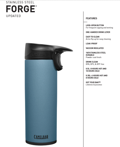 Camelbak New Updated Forge Vacuum Insulated Travel Mug