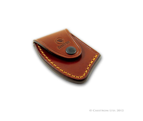 Casstrom No25 Cognac Leather Axe Sheath