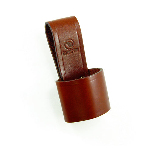 Casstrom Leather Axe Loop In Brown And Black