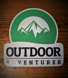 Outdoor Adventurer Stickers