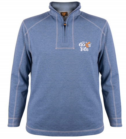 It's A Dogs Life 1/3 Zip Sweatshirt
