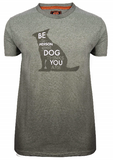 Its A Dogs Life Be The Person Military Green T Shirt