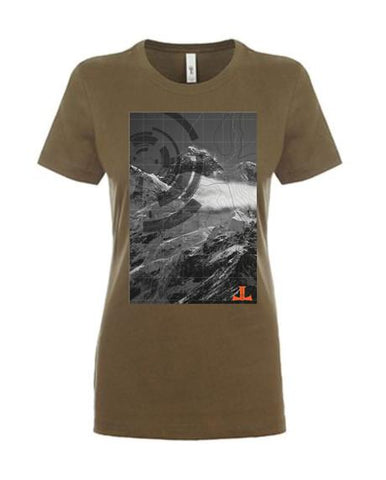 Joel Lambert Climb Every Mountain Womens T-Shirt