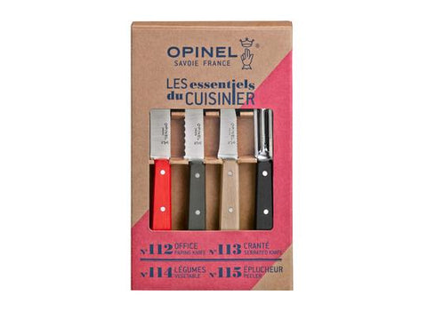 Opinel Loft 4pc Kitchen Knife Set