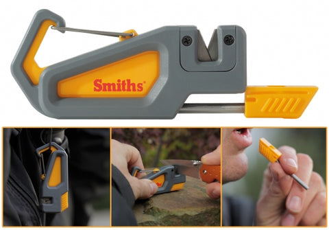 Smiths Pack Pal Sharpener And Fire Starter