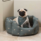 Sophie Allport Pug Neckerchief Collar Small