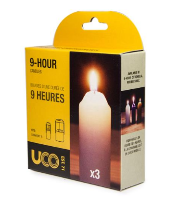 Uco 9 Hour Replacement Candles
