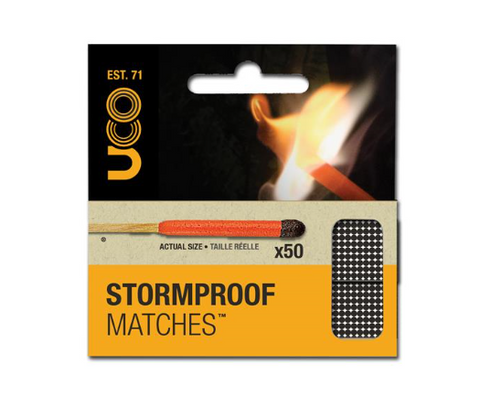 Uco Storm Proof Matches x 50