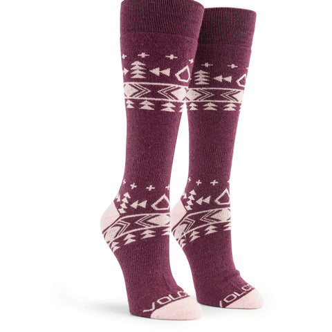 Volcom Womens Snowboard Tundra Tech Sock