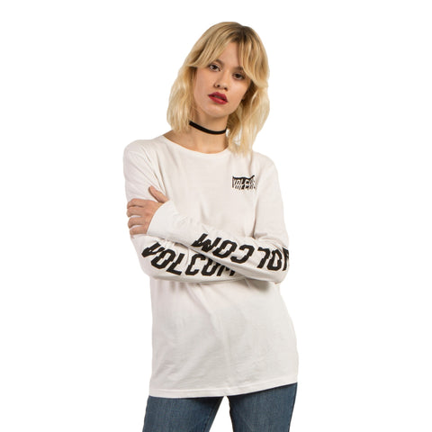 Volcom Simply Stoned LS Womens Tee