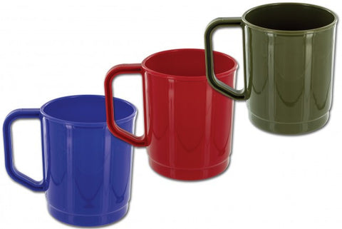 Highlander 275Ml Polyprop Camping Mug Colour Blue | Outdoor Adventurer