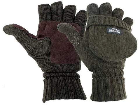 Highlander Falher Shooting Mitts Size Large | Outdoor Adventurer