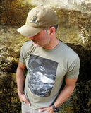Joel Lambert Climb Every Mountain Mens T Shirt Colour Olive | Outdoor Adventurer