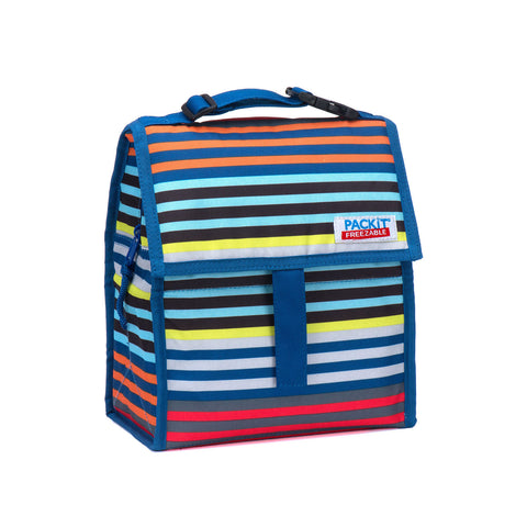 Packit Personal Cooler Lunch Bag 8In Cali Stripes | Outdoor Adventurer