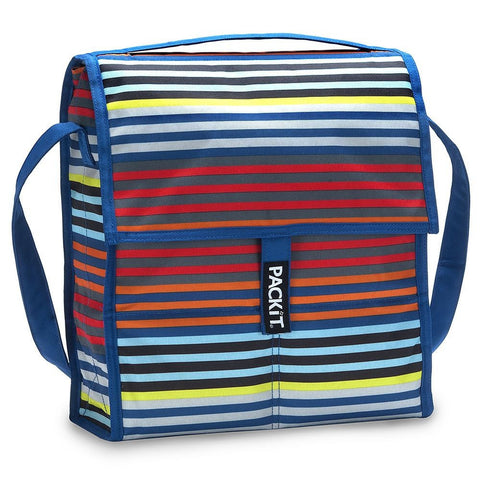 Packit Social Cooler Picnic Bag 12In Cali Stripes | Outdoor Adventurer