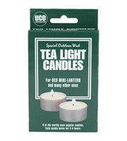 Uco 6Pk Tea Light Candles For Micro Lantern | Outdoor Adventurer
