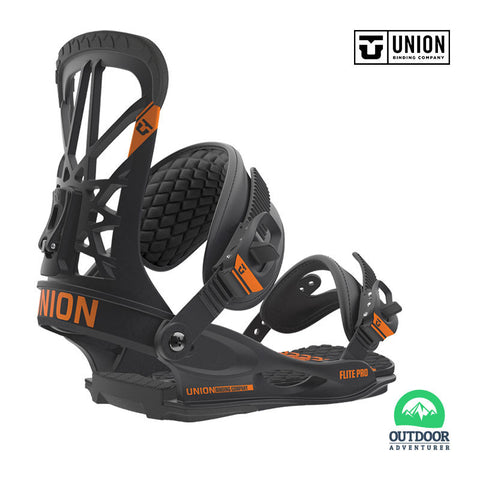 Union Bindings Flite Pro Black Size Large To X Large | Outdoor Adventurer