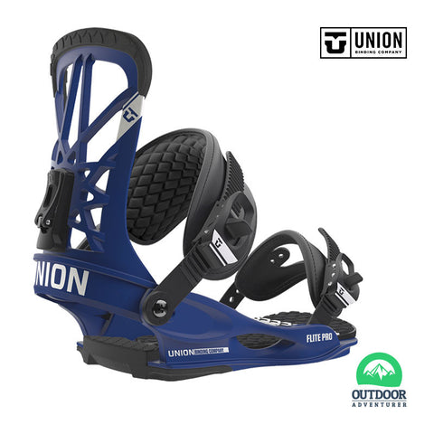 Union Bindings Flite Pro Blue Size Large To X Large | Outdoor Adventurer