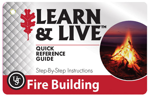 Ust Fire Building Cards | Outdoor Adventurer